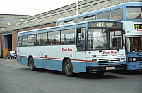 H163DJU Blue Bus,Bolton Low Fell Coaches(Tindall) Low Fell