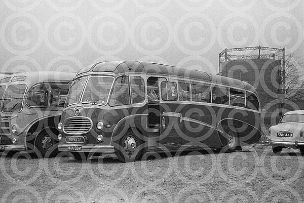 MAA589 Excelsior,Dinnington Creamline,Bordon
