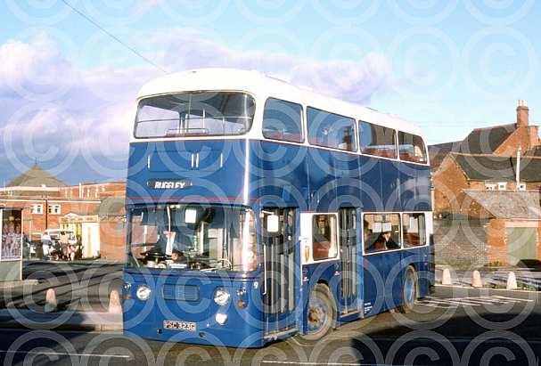 PSC323G Blue Bus,Rugeley Lothian RT Edinburgh CT