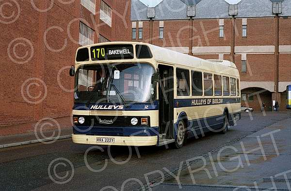 RRA222X Hulley,Baslow Nottingham CT Trent