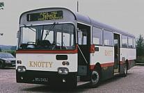 EDJ242J Knotty Bus,Chesterton Merseyside PTE St.Helens CT