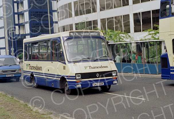 G412OAM Thamesdown Transport
