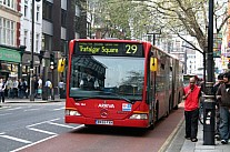 BX55FXH London Arriva