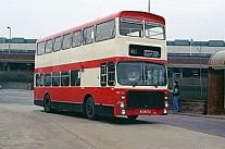 JOV761P London Buses WMPTE