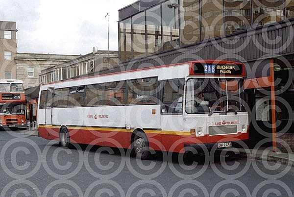 G612CFA Midland Red North C-Line,Macclesfield Happy Days,Woodseaves