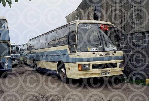 B223OJU Marshall,Sutton-on-Trent Bexleyheath Transport