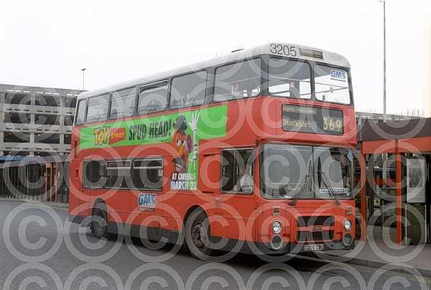 C205CBU Stagecoach Manchester GM Buses GMPTE