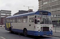 ANV422J Midway,Manchester Brown,Blackburn Luton & District UCOC