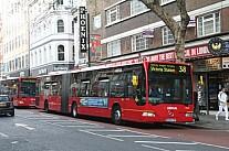 BX55FUP London Arriva