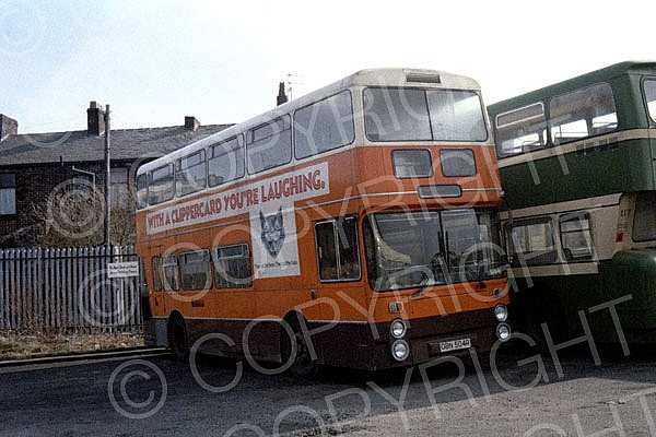 OBN504R Rossendale Greater Manchester PTE Lancashire United
