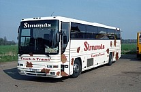 XJO46 (A13EXC) Simonds,Botesdale Excelsior,Bournemouth