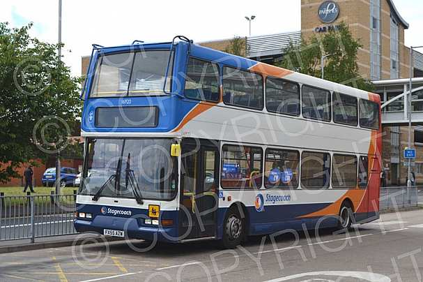FX55AZW Stagecoach Lincolnshire RoadCar