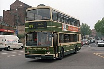 E701GCU Nottingham CT Kentish Bus