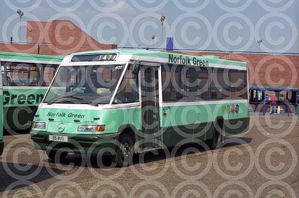 55BUS Norfolk Green,Kings Lynn