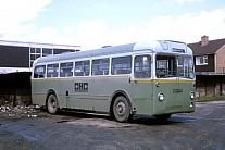 GVH793 Green Bus,Rugeley Huddersfield JOC
