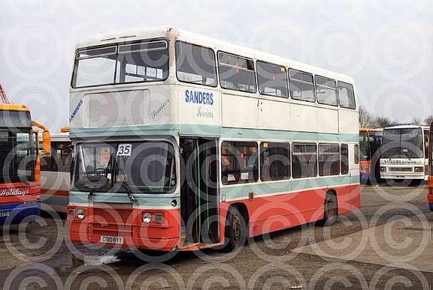 C810BYY Sanders,Holt London Buses