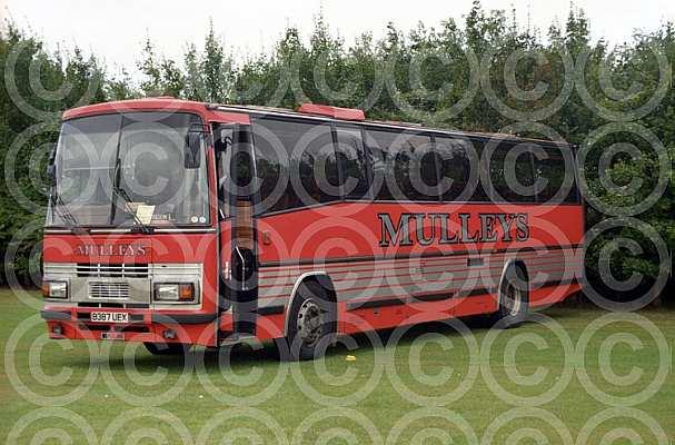 B387UEX Mulley,Ixworth Dack,Terrington St.Clement