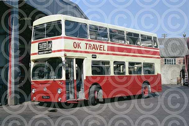 JGU258K OK,Bishop Auckland Lockey,St.Helens Auckland London Transport