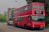 CUB539Y London Buses WYPTE