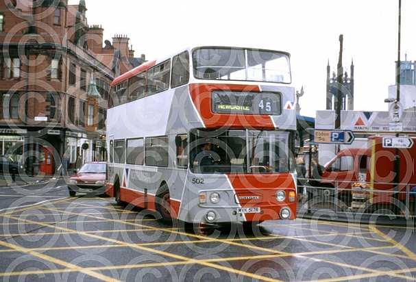 MVK517R Northumbria MS Tyne & Wear PTE