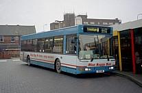 R91GNW Blue Bus,Bolton Capital,West Drayton