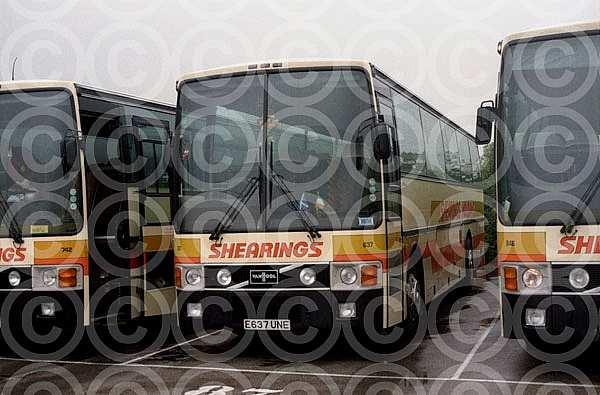 E637UNE Shearings