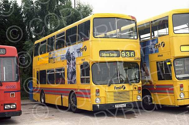 F153HAT First Manchester Coachmasters,Rocdale Hull CT