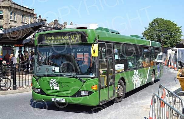 ESU912 (FD02SDY) Harrogate Coach Co.(Connextions) Nottingham CT