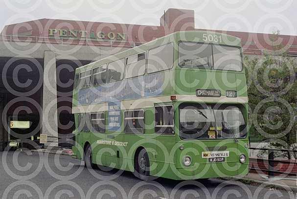 KJD90P Maidstone & District London Transport