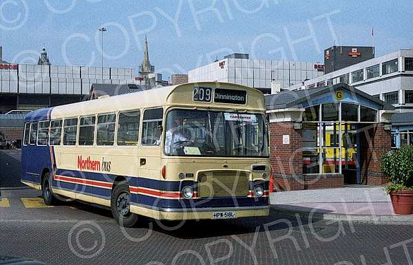 HPW518L Northern Bus,Anston ECOC
