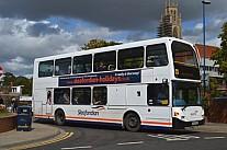 YV03RCY Sleafordian,Sleaford Go Ahead Metrobus
