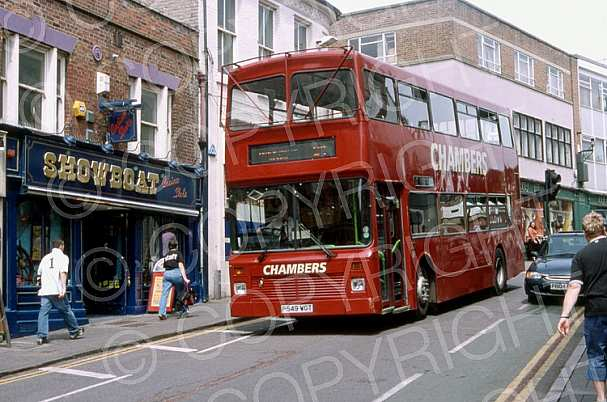 P549WGT Chambers,Bures Go Ahead London