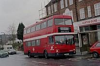 GBU1V London Buses (Leaside Buses) GMPTE