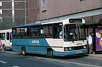 H166MFA Arriva North Midlands Midland Red North Stevensons,Spath