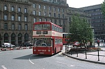 YNA337M My Bus,Manchester Warrington CT GMPTE SELNEC PTE