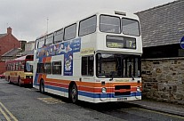 A583HDB Blazefield Lancashire United Stagecoach Ribble Stagecoach Manchester GM Buses GMPTE