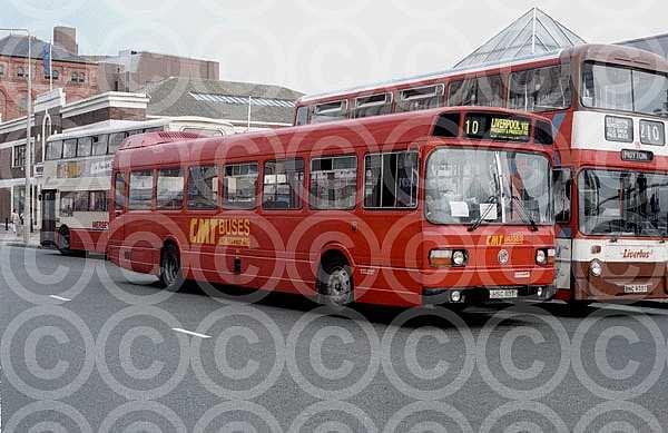 HSC110T CMT,Aintree Wigan Bus Company Alexander Fife