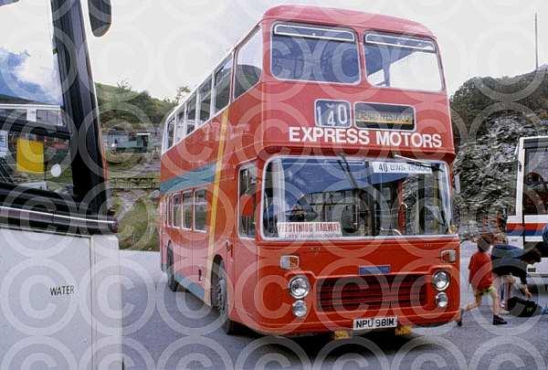 NPU981M Express Motors,Rhostryfan ENOC