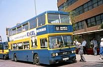 H807XMY Metrobus