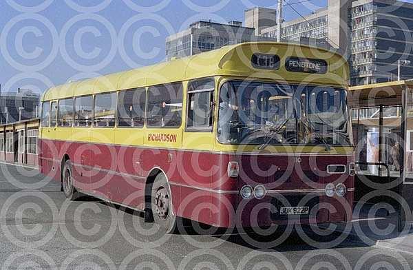 JDK922P Richardson,Sheffield GMPTE Lancashire United