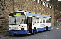SIB1287 (BPL483T) Rebody Northern Blue,Burnley Kentish Bus London Country