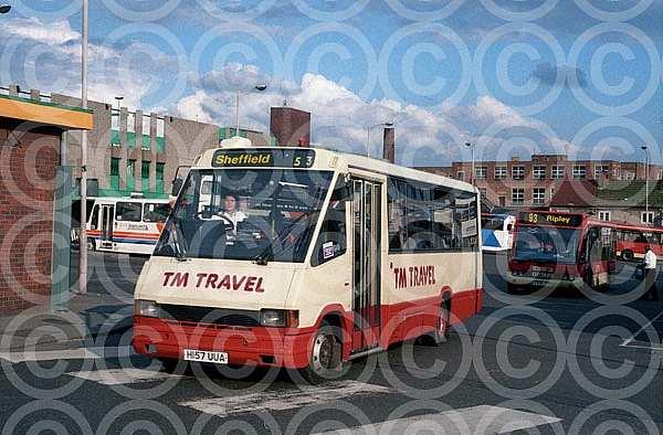 H157UUA TM,Chesterfield London Buses