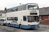 E477SON Jones,Ponciau Finglands,Manchester London Buses