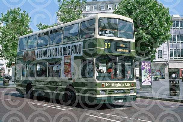 G879TVS Nottingham CT Scania Demonstrator