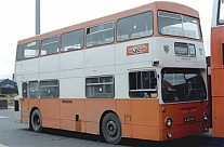 KJD70P Pennine Blue Grimsby Cleethorpes London Transport