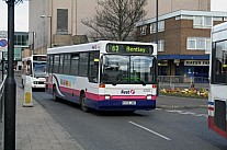 K946JWE First South Yorkshire Mainline Wilfreda Beehive