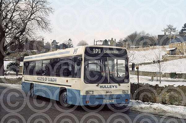 Q364FVT (LJX817H) Rebody Hulley,Baslow Border Buses,Burnley NT East Hebble MS