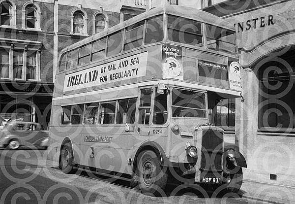 HGF931 London Transport