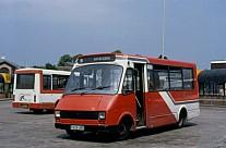 E929UBO Red&White Cynon Valley