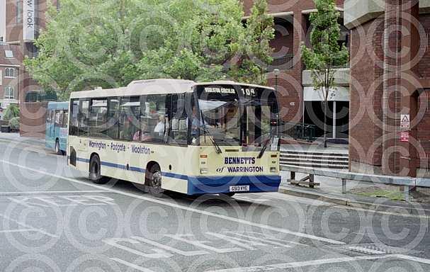 G513VYE Bennetts,Warrington London Buses